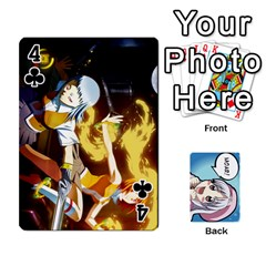 Anime By Brian Samuelson   Playing Cards 54 Designs   Iomrcub27629   Www Artscow Com Front - Club4