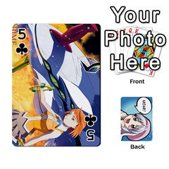 Anime By Brian Samuelson   Playing Cards 54 Designs   Iomrcub27629   Www Artscow Com Front - Club5