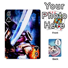 Anime By Brian Samuelson   Playing Cards 54 Designs   Iomrcub27629   Www Artscow Com Front - Club6