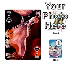Anime By Brian Samuelson   Playing Cards 54 Designs   Iomrcub27629   Www Artscow Com Front - Club7