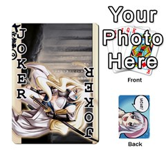 Anime By Brian Samuelson   Playing Cards 54 Designs   Iomrcub27629   Www Artscow Com Front - Joker1