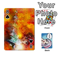 Anime By Brian Samuelson   Playing Cards 54 Designs   Iomrcub27629   Www Artscow Com Front - Spade8