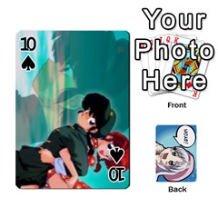 Anime By Brian Samuelson   Playing Cards 54 Designs   Iomrcub27629   Www Artscow Com Front - Spade10