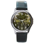 Gardens of Babylon Round Metal Watch