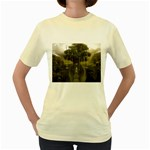 Gardens of Babylon Women s Yellow T-Shirt