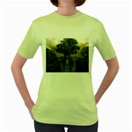 Gardens of Babylon Women s Green T-Shirt