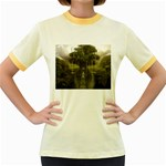 Gardens of Babylon Women s Fitted Ringer T-Shirt