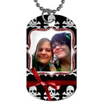 BFFL tags - Dog Tag (One Side)