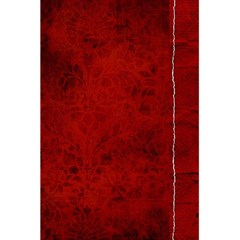 5 5 X 8 5 Notebook In Red  By Cheryl Peacock   5 5  X 8 5  Notebook   Gwqv64ez0plh   Www Artscow Com Front Cover Inside