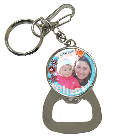 Key1 By Asya   Bottle Opener Key Chain   B7g05e192eh1   Www Artscow Com Front