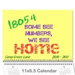 CGL 2010 - Wall Calendar 11  x 8.5  (12-Months)