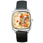 fall watch - Square Metal Watch