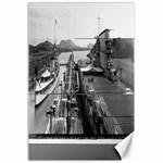 canvas Panama Canal - Canvas 24  x 36