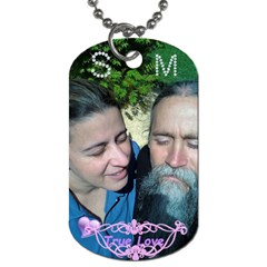 Ms By Sabrina   Dog Tag (two Sides)   J2w1kolizppq   Www Artscow Com Front