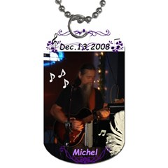 Ms By Sabrina   Dog Tag (two Sides)   J2w1kolizppq   Www Artscow Com Back