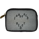 love each other camera case - Digital Camera Leather Case