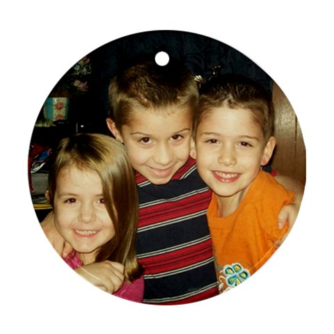 By Toni Stiglitz   Ornament (round)   Yly2s00sbred   Www Artscow Com Front