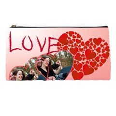 Love By Wood Johnson   Pencil Case   Rb21qf2iq43g   Www Artscow Com Front