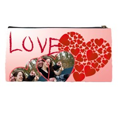 Love By Wood Johnson   Pencil Case   Rb21qf2iq43g   Www Artscow Com Back