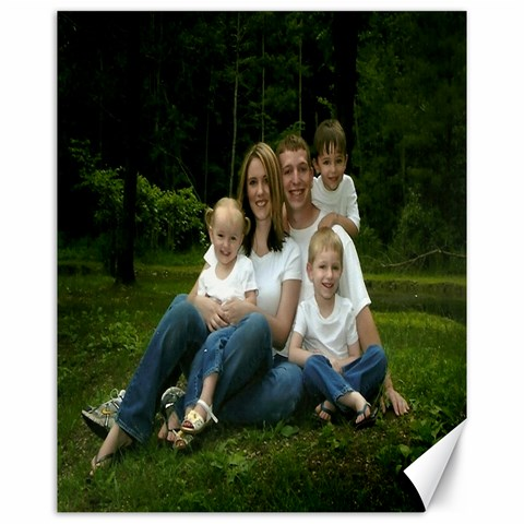 Family Sitting By Janelle   Canvas 16  X 20    Ucy02idegoqy   Www Artscow Com 20 x16 Canvas - 1