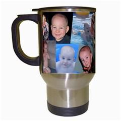 Daddyandme By Amarilloyankee   Travel Mug (white)   057mtcu1qnol   Www Artscow Com Left