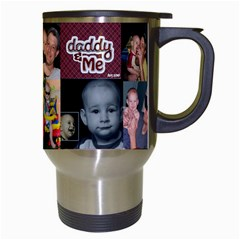 Daddyandme By Amarilloyankee   Travel Mug (white)   057mtcu1qnol   Www Artscow Com Right