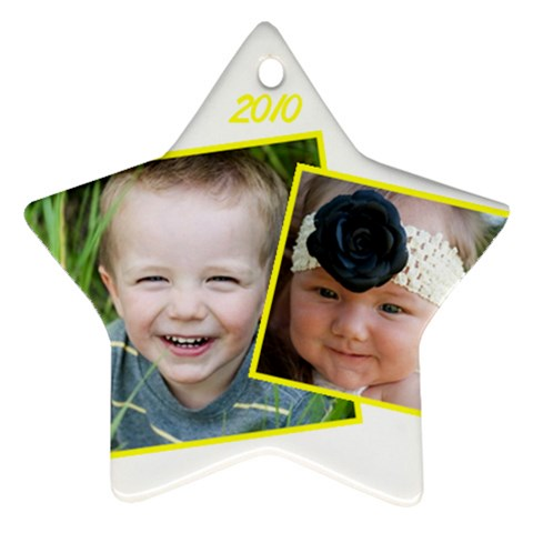 Severson 2 By Mary   Ornament (star)   Xvxf697tdo3v   Www Artscow Com Front