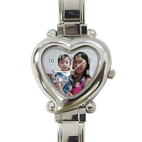 By Pauline Tan   Heart Italian Charm Watch   K5waclip1ikw   Www Artscow Com Front
