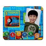 nathan s gift - Large Mousepad