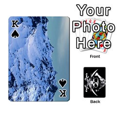 King Card Deck By Adrian Wilkinson   Playing Cards 54 Designs   7xmj9avsn9id   Www Artscow Com Front - SpadeK