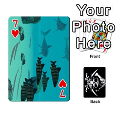 Card Deck By Adrian Wilkinson   Playing Cards 54 Designs   7xmj9avsn9id   Www Artscow Com Front - Heart7