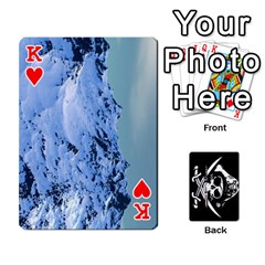 King Card Deck By Adrian Wilkinson   Playing Cards 54 Designs   7xmj9avsn9id   Www Artscow Com Front - HeartK