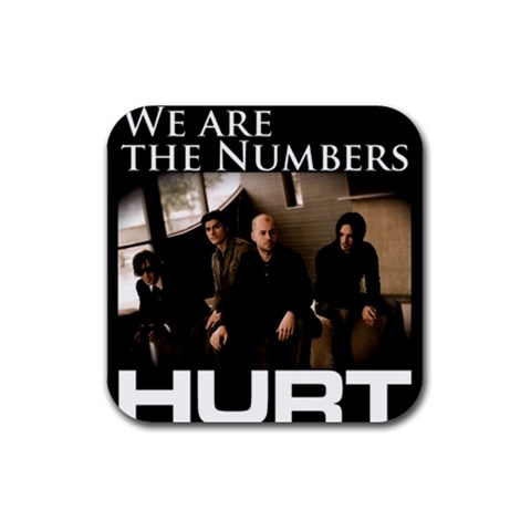 We Are The Numbers  By Coon   Rubber Coaster (square)   Pewm3j1ys2al   Www Artscow Com Front