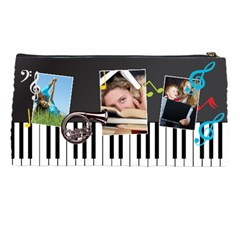 Music Bag By Wood Johnson   Pencil Case   Yeguiysghgoc   Www Artscow Com Back
