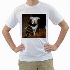 Man s Shirt By Sdwhru   Men s T Shirt (white) (two Sided)   F6ix61u921sw   Www Artscow Com Front