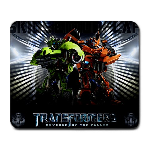 Transformers By Omar   Large Mousepad   Mvo5g3smtjmm   Www Artscow Com Front