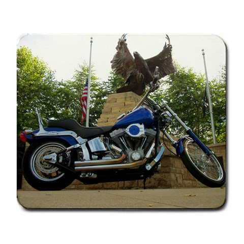 Cool Bike Mouse Pad  By Clay Warner   Large Mousepad   Dj4chc4pg8jd   Www Artscow Com Front
