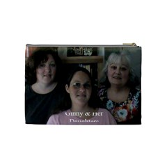 Nana s Girls By Virginia Rodriguez   Cosmetic Bag (medium)   0libbjjy0r3b   Www Artscow Com Back