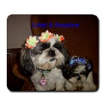 PUPS  Nicki s New Mousepad - Large Mousepad