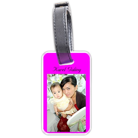 For Ninang Karel By Rosanna   Luggage Tag (one Side)   Eif2ce95rjx6   Www Artscow Com Front