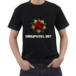 Groupe de l est shirt design - Black T-Shirt (Two Sides)