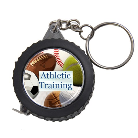 Sports Ball Tape Measure Key Chain By Melissa   Measuring Tape   Rxfujzc0ekps   Www Artscow Com Front