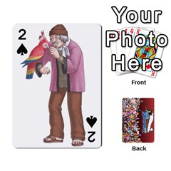 Pwcards By Wes   Playing Cards 54 Designs   Fh6uhkjiy9tq   Www Artscow Com Front - Spade2
