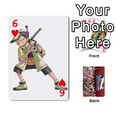 Pwcards By Wes   Playing Cards 54 Designs   Fh6uhkjiy9tq   Www Artscow Com Front - Heart6