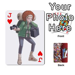Jack Pwcards By Wes   Playing Cards 54 Designs   Fh6uhkjiy9tq   Www Artscow Com Front - HeartJ