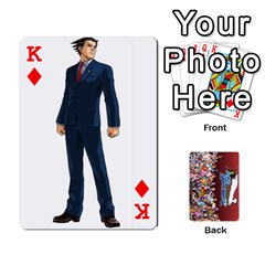 King Pwcards By Wes   Playing Cards 54 Designs   Fh6uhkjiy9tq   Www Artscow Com Front - DiamondK