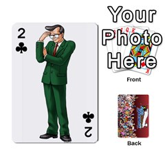 Pwcards By Wes   Playing Cards 54 Designs   Fh6uhkjiy9tq   Www Artscow Com Front - Club2