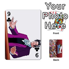Pwcards By Wes   Playing Cards 54 Designs   Fh6uhkjiy9tq   Www Artscow Com Front - Club9