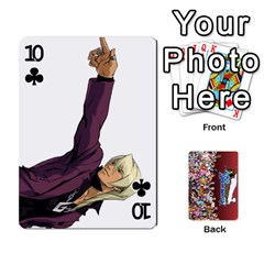 Pwcards By Wes   Playing Cards 54 Designs   Fh6uhkjiy9tq   Www Artscow Com Front - Club10