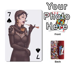 Pwcards By Wes   Playing Cards 54 Designs   Fh6uhkjiy9tq   Www Artscow Com Front - Spade7